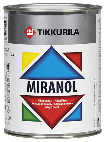 Алкидная эмаль VIRANOL от TIKKURILA