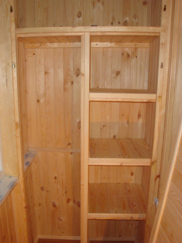 Как сделать шкаф из дерева фото 812