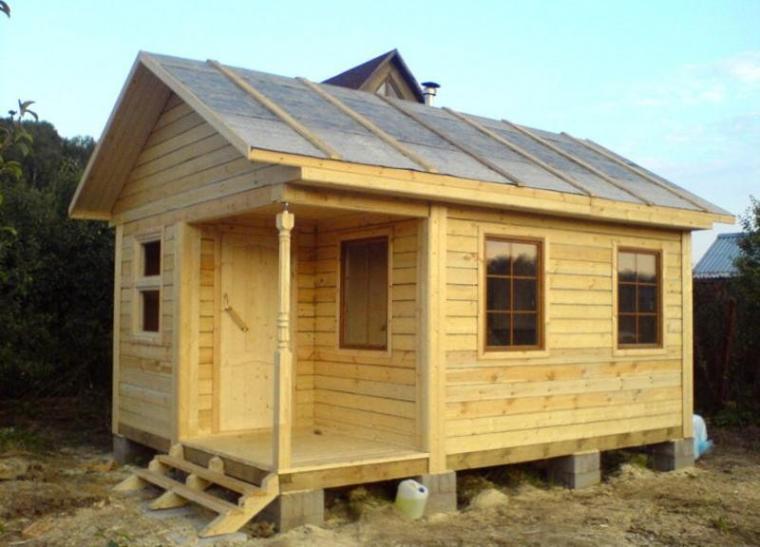Бани из дерева всегда были и остаются наиболее популярными у российских землевладельцев