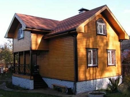 Брусовый дом для проживания