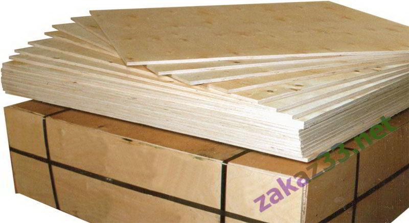 Четырёхмиллиметровая древесно-слоистая плита