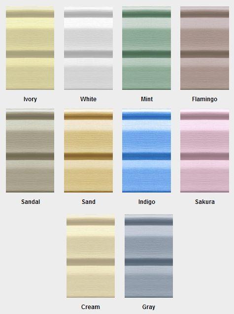 Цветовой спектр FaSiding достаточно широк