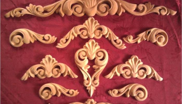 Декоративные накладки из дерева