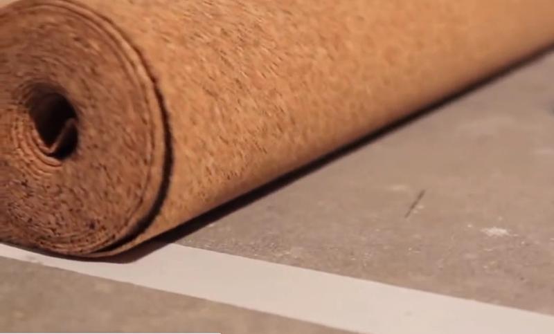 Деревянная подложка под ламинат – пробка