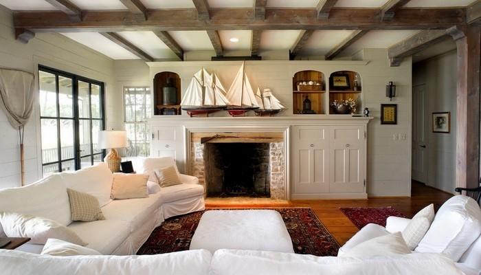 Деревянные балки на потолок