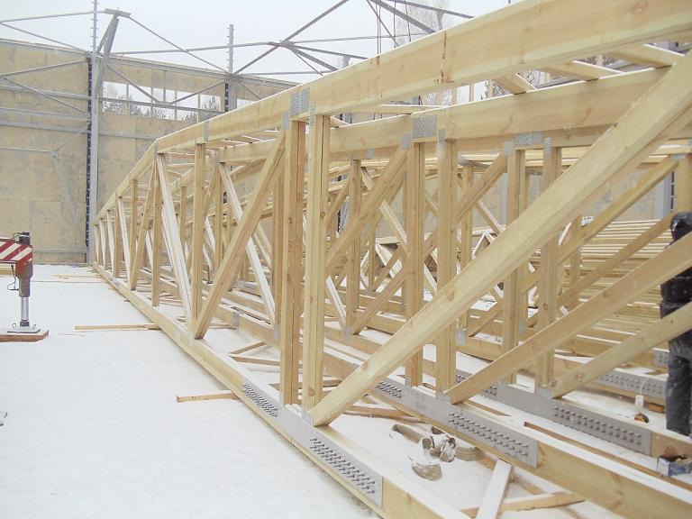 Длина этой конструкции превышает 30 метров