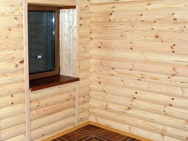 Для дома из дерева нужно подобрать подходящую отделку