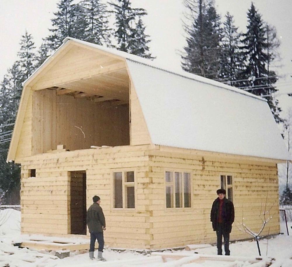 Как построит дом своими руками с мансардой