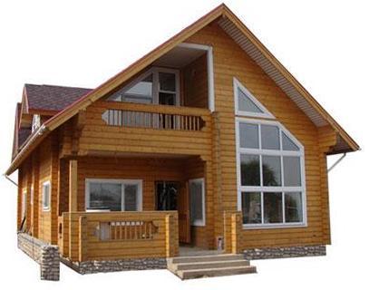Дом из профилированного бруса 10 на 10 – отличное решение для большой семьи