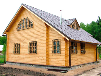 Дом из профильного бруса