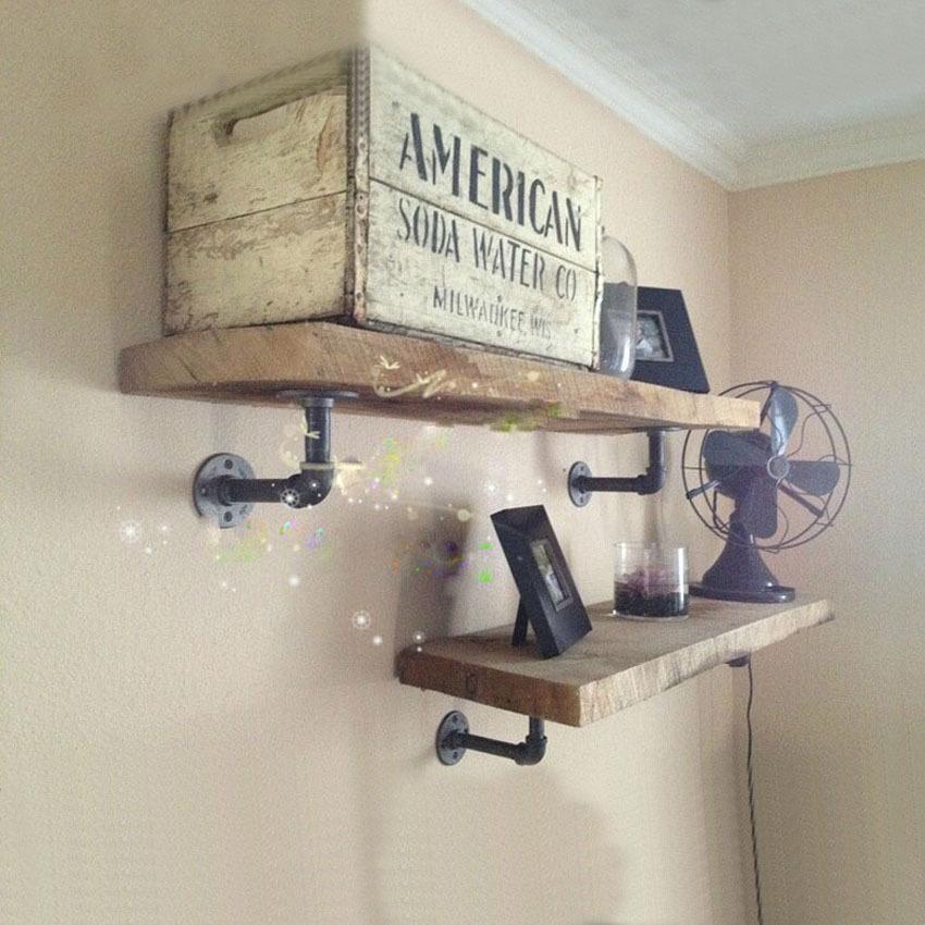 Полочки на стену своими руками из дерева фото 908