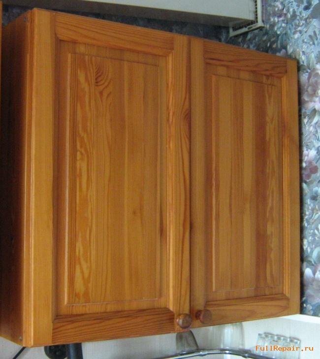 Дверцы из дерева для шкафчика