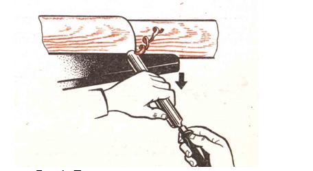 Двигаться нужно от бабки к шпинделю, передвигая опорный элемент по мере необходимости