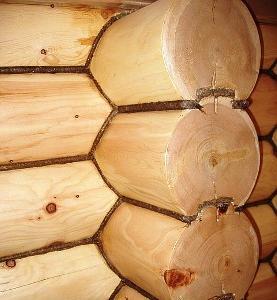 Джут – отличное решение для деревянных строений