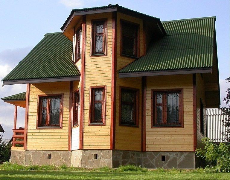 Эркер делает дом более привлекательным внешне