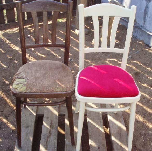 Этот стул получил вторую жизнь