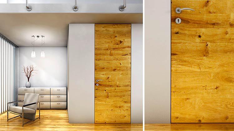 Фанерная дверь