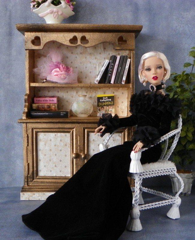 Фанерная мебель для куклы