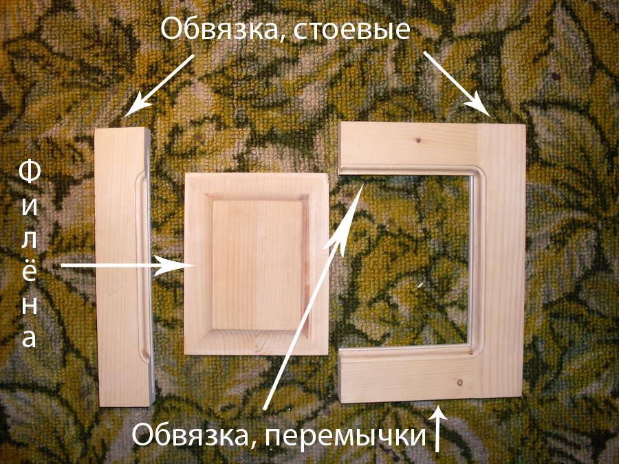 Мебельные заготовки и полуфабрикаты из дерева