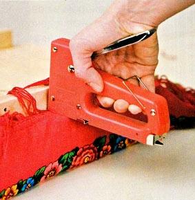Фиксация ткани степлером