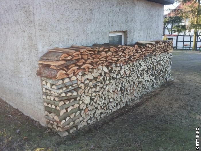 Если нет слива, вся вода с крыши будет литься на дрова