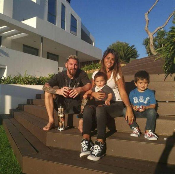 Свободное время Месси проводит дома с семьей