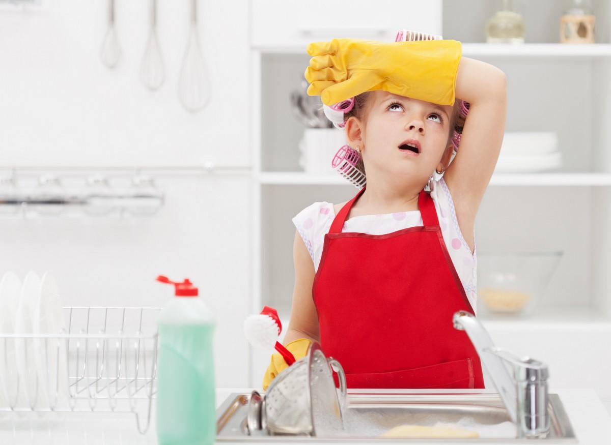 Мытье посуды – одна из самых нелюбимых работ по дому