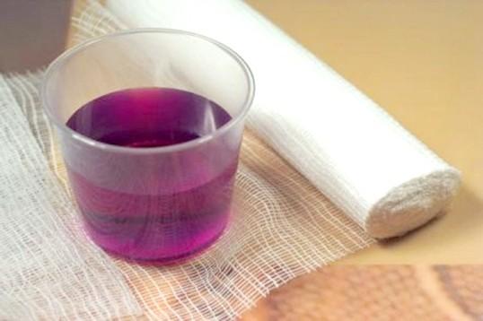 Марганцовка является универсальным средством от болезней растений