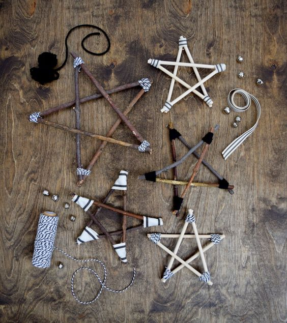 Ветки могут стать отличным материалом для изготовления предметов декора