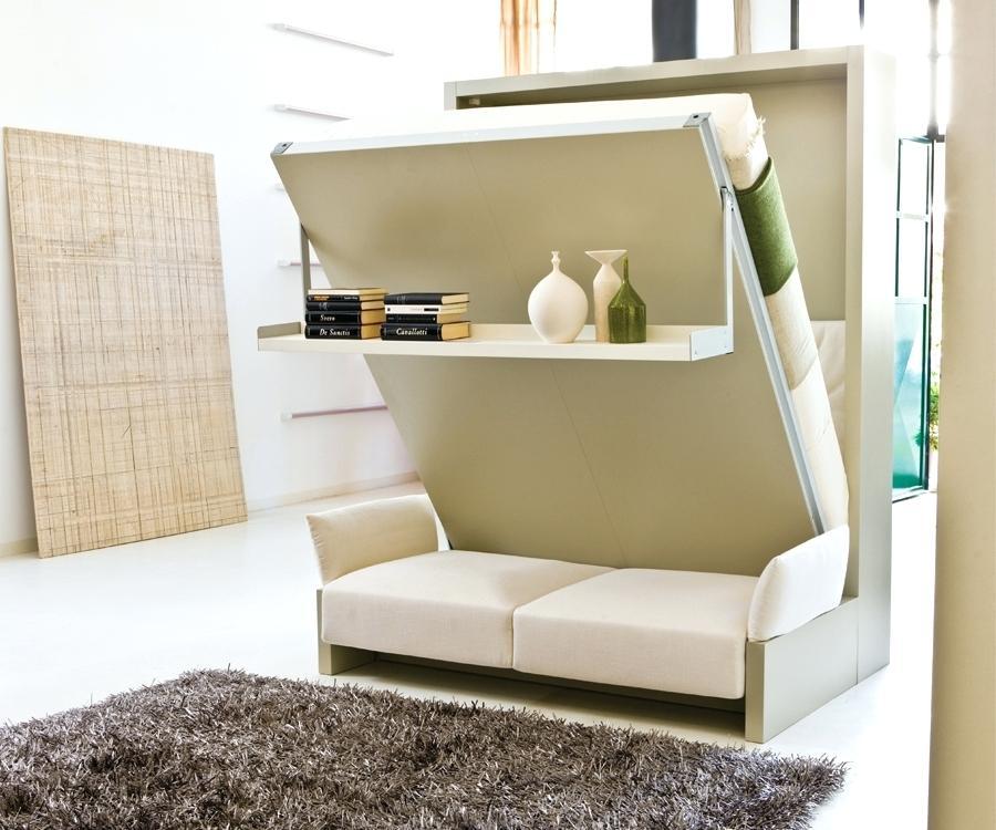 Диван-шкаф экономит место в гостиной