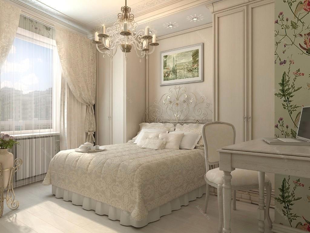 Природные принты в спальне не только разнообразят комнату, но и поднимут настроение