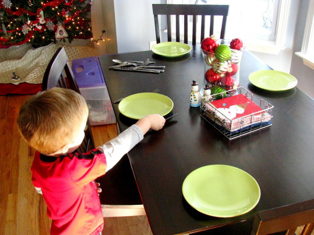 На кухне доверяйте безопасные поручения