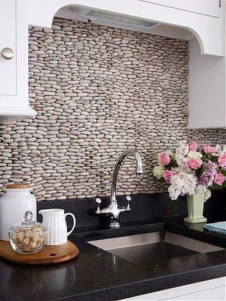 Искусственный камень, как материал для обработки кухонных фартуков