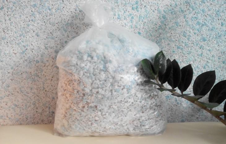 Дозревание смеси в пакете