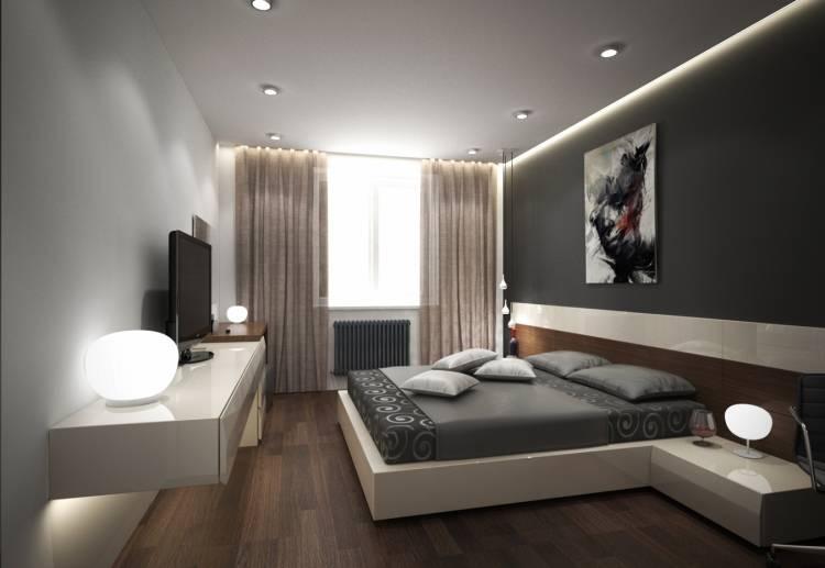 Почему нельзя ставить точечные лампы в спальне?