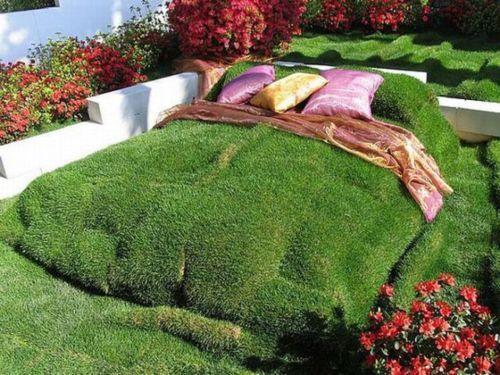 Садовая кровать