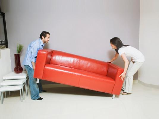 Ошибки в расстановке мебели