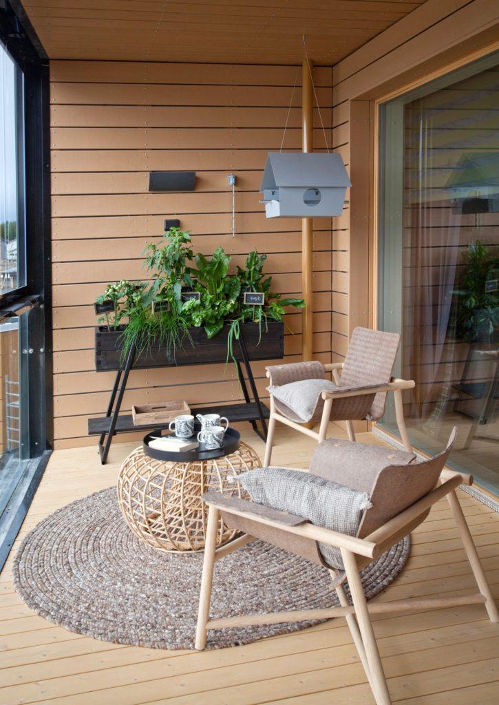 Какое напольное покрытие выбрать для балкона