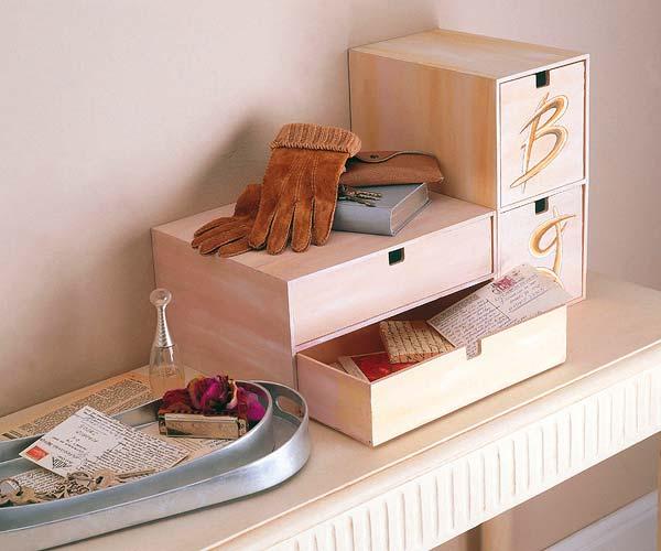 Продумайте миниатюрные системы хранения