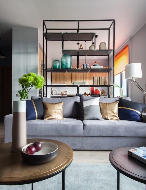 С помощью правильно расставленной мебели можно разделить пространство на зоны