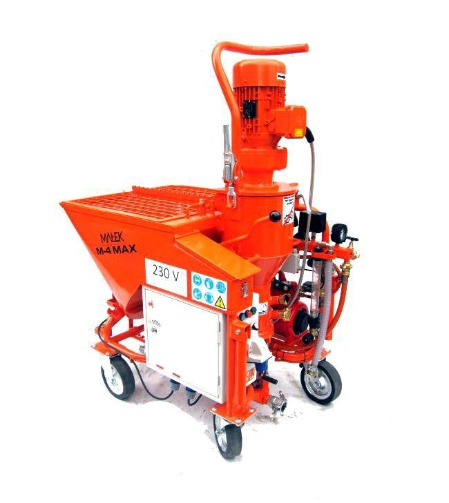 Машинка для механизированной штукатурки