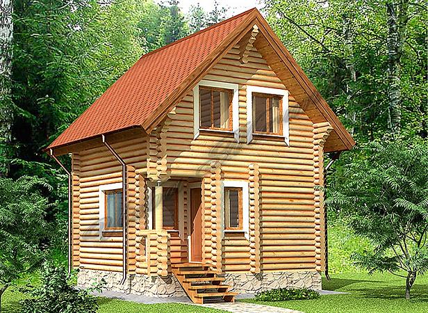 Как построить дом с баней?