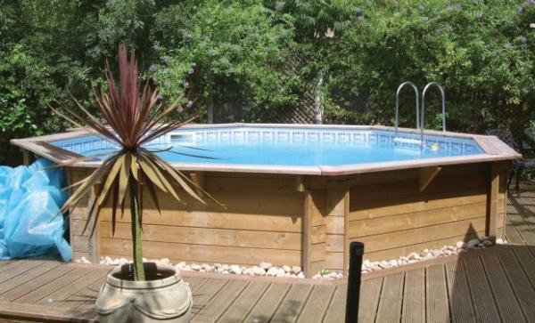Фото деревянного бассейна