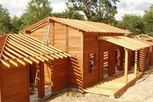 Фото деревянных построек