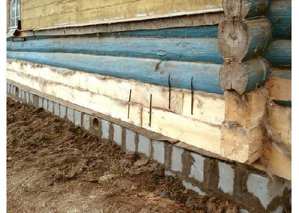 Фото полной замены деревянного основания