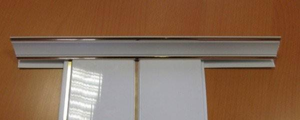 Фото соединения галтели с панелями.