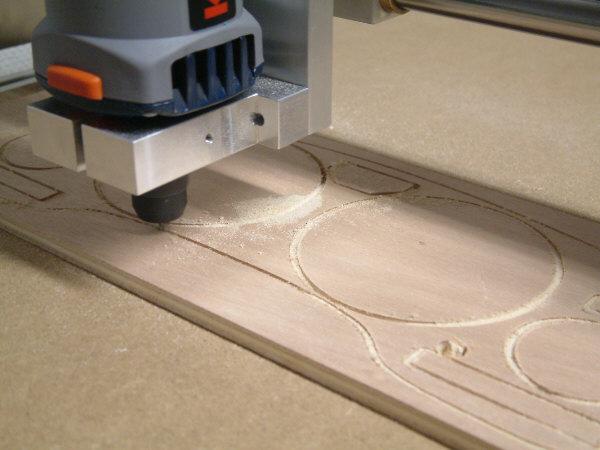 Фрезеровка деревянной заготовки