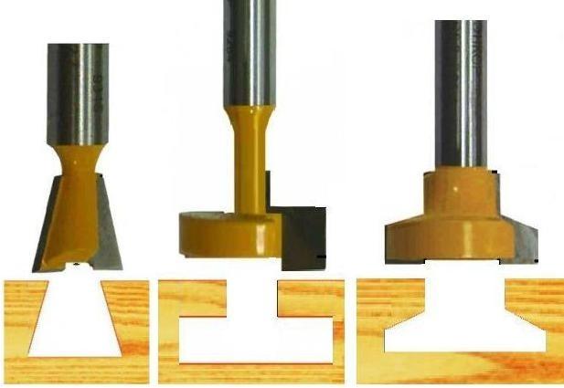 Фрезы конструкционные пазовые и форма выборки