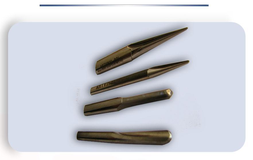 Фрезы могут иметь различные конфигурации в зависимости от целей использования