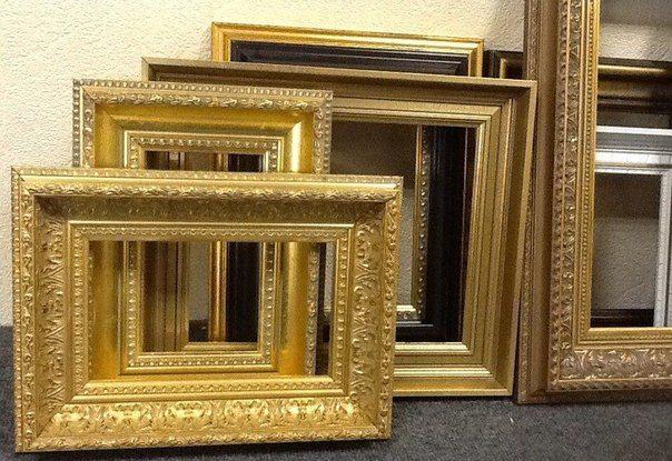Готовые рамы для декорирования картин и зеркал